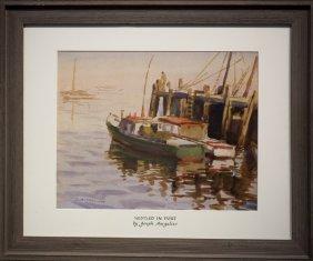 """Joseph Margulies , """" Nestled In Port"""""""