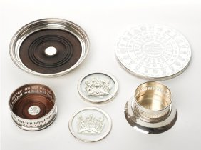 Collection Of Plated Coasters