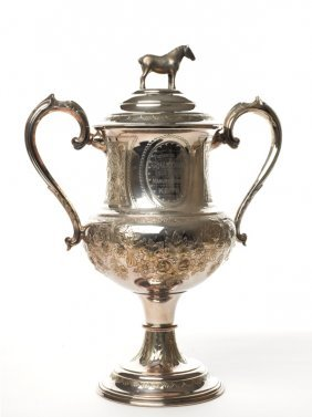 The Manure Works Cup Plated Horse Trop