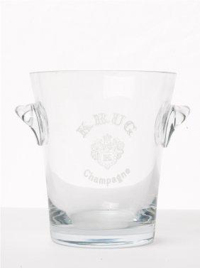Krug Crystal Champagne Bucket