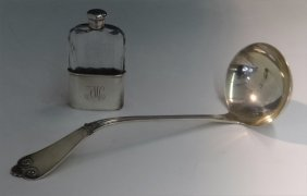 Tiffany & Co Pat.1869 Sterling Silver Ladle &