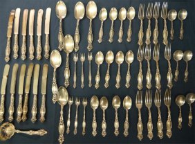 Sterl.ing Flatware By Simpson, Hall, Miller & Co.