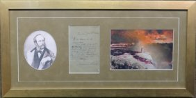 Frederic E. Church Sgnd Personal Letter