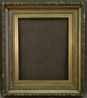"""19thc. Cove Frame 42 3/4"""" X 37"""" Overall"""