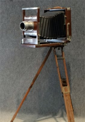 Seneca Plate Camera W/ Tripod By Seneca Camera Mfg