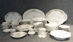 Assembled Set Of 83 Pcs Haviland Limoges China