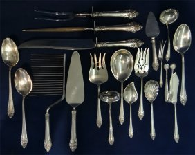 Sterl. Silver Flatware By Reed & Barton
