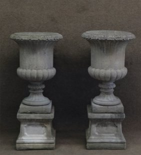 Italian Stone Garden Urns