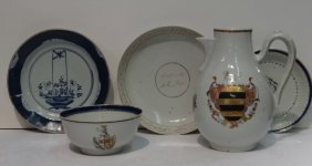 5 Pcs. Oriental Export Porcelain