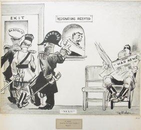 Ty Mahon 1940 Philadelphia Evening Bulletin El Duce