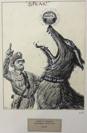 Frank Spangler Sr. Montgomery Alabama Hitler Dogs O