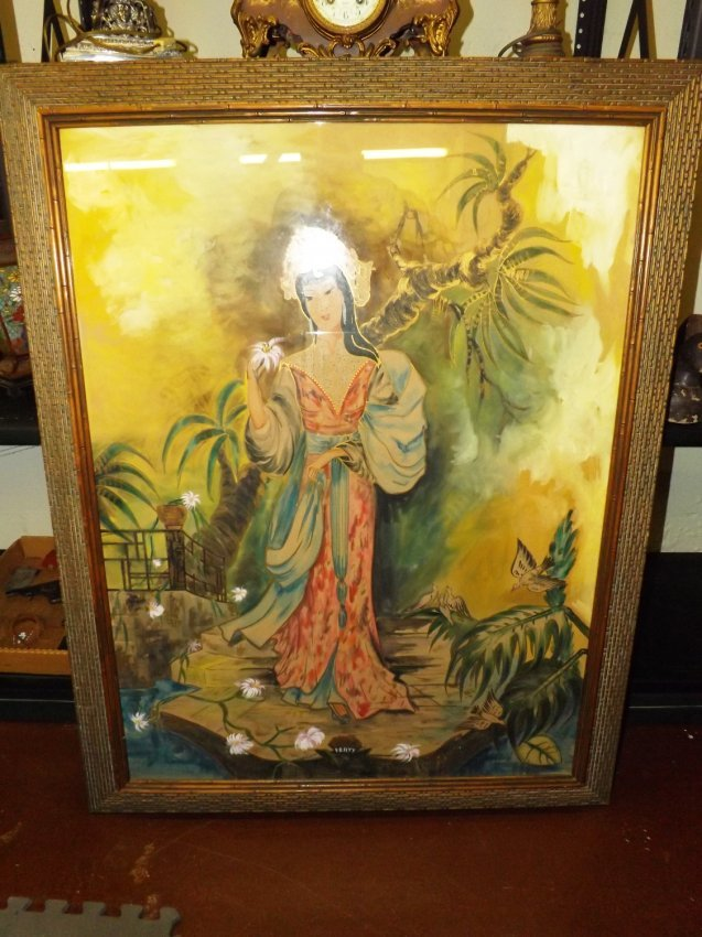 140 Oriental Painting By Pratt Lot 140