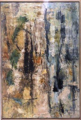 Alma Woodsey Thomas (1891-1978) Acrylic On Canvas