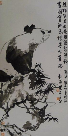 Chinese Painting By Liu Haishu