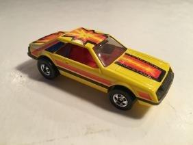 Hot Wheels Mattel 1979 Yellow Mustang