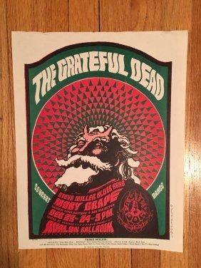 Near Mint Grateful Dead Handbill - Fd040