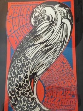 Rock Posterthe Byrds - Bg057 -1st