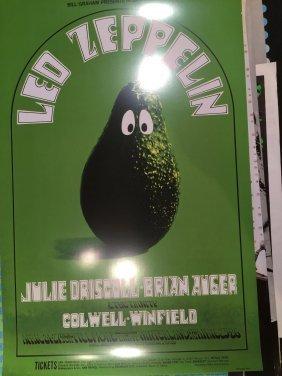 Led Zeppelin Poster - Randy Tuten Art !