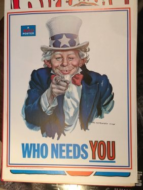 1969 Mad Magazine Poster