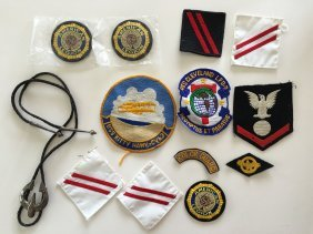 Large Assortment Of Vintage Military Patches