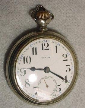 Pocket Watch, Zenith, Swiss Made