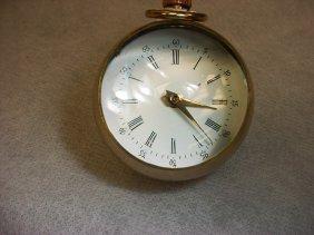 Desk Watch, Ball Shaped ,Swiss Made