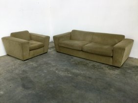 """Paul Frankl """"speed"""" Sofa And Arm Chair Sofa"""