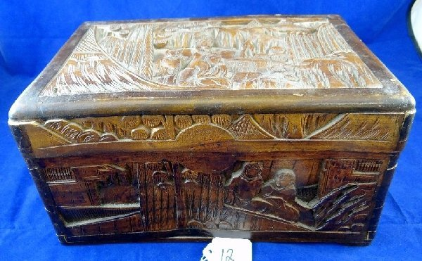 hand carved wooden boxes 1
