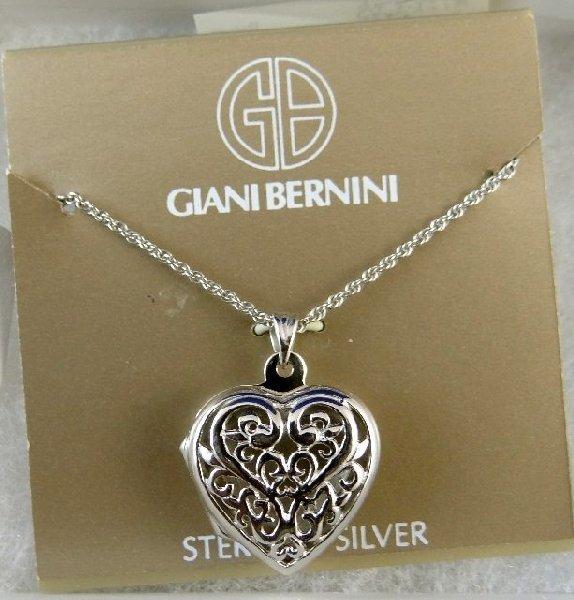 giani bernini sterling silver locket new lot 91
