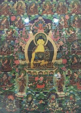 A Nice Tibetan Tangka