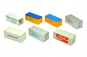 Konvolut 7 Liliput-container