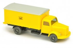 Postwagen Mb 3500 Posthorn (mit Luefter)