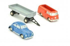 Schuco - Konvolut 3 Piccolo-modelle Der 60er J.