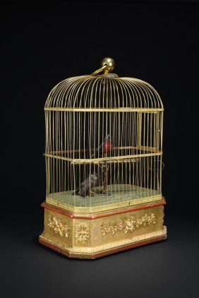A French Bird Singing Cage Automation