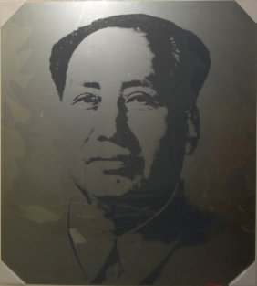 "Andy Warhol ""Mao"" Sunday B Morning Silkscreen"