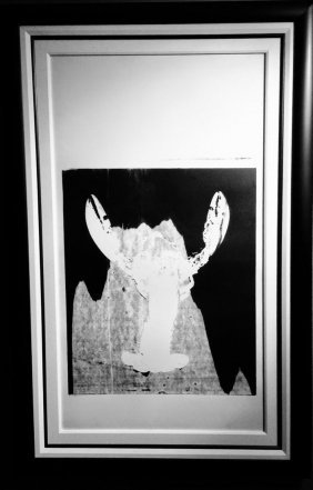 "Andy Warhol ""lobster"""