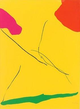 """Helen Frankenthaler """"spoleto"""""""