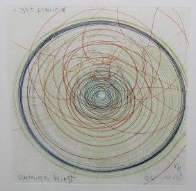 """Damien Hirst """"spin, I Get Around"""""""