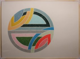 "Frank Stella ""sinjerli Variation La"""
