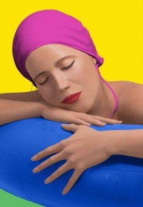 "Carole Feuerman ""serena With Pink Cap"""
