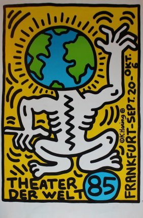 "Keith Haring ""theater Der Welt"""