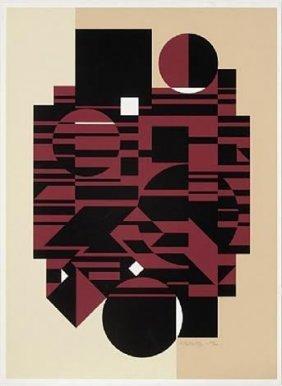 """Victor Vasarely """"elbrouz"""""""