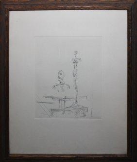 """Alberto Giacometti """"the Search"""""""