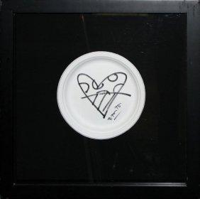 """Romero Britto """"untitled (heart)"""""""