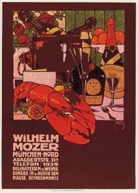 """Ludwig Hohlwein """"willhelm Mozer"""""""