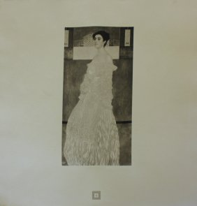 "Gustav Klimt (after) ""portrait Of Baroness"