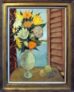 """Charles Levier """"fleurs Sur La Mer"""""""