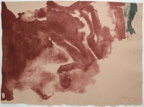 """Helen Frankenthaler """"altitudes"""""""