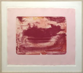 "Helen Frankenthaler ""the Red Sea"""
