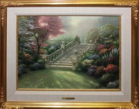 "Thomas Kinkade ""stairway To Paradise - Visions Of"